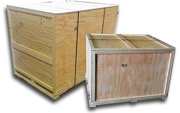 Closed Wooden Crates